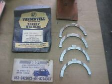 FORD 100E Austin A40 ,MGA ,Crankshaft Thrust Washer Set Vandervell VPW 190 .0075
