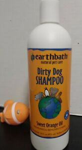 Dirty Dog Shampoo -Natural Pet Care by earthbath >Sweet Orange Oil >16 Oz/473ml