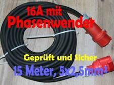 CEE  30m Verlängerungskabel Starkstromkabel 16A 5x2,5mm²  MRS