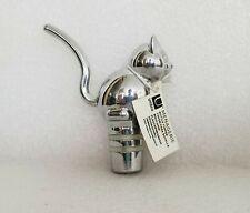 Umbra Menagerie Cat Kitten Wine Bottle Chrome Topper Stopper NEW
