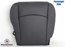 2009-2012 Dodge Ram Laramie Sport -Passenger Bottom Leather Seat Cover Dk Gray