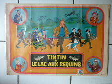 HERGE / TINTIN / RARE POSTER  PUBLICITAIRE POUR OLA  COMPLET