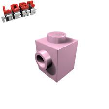 50 Lego Bausteine 1x1 Konverter mit 1 Noppe Stud hell pink rosa NEU 87087