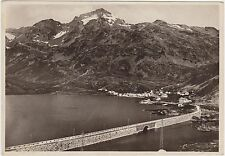 IL LAGO ARTIFICIALE AL MONTE SPLUGA - MADESIMO (SONDRIO) 1939