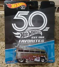 Hot Wheels  Volkswagen T1 Drag Bus Favorites 50th Anniversary