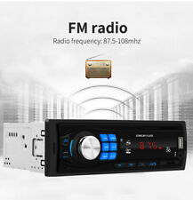 Car Radio Bluetooth Stereo Player FM/MP3/USB/AUX/SD In-dash Audio Head Unit US