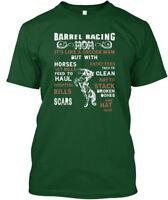 Barrel Racing Mom Horseback Riding - It's Like A Hanes Tagless Tee T-Shirt