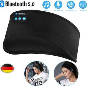 Schlafkopfhörer Bluetooth Schlaf Kopfhörer Sleepphones - Kopfhörer zum Schlafen