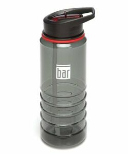 The Bar Method 24 Ounce Gray Water Bottle - Brand New - Fast Shipping