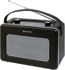 Roadstar Tra-1958 Bk Retro Radio Old Style
