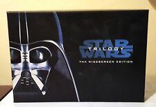 Star Wars Trilogy Black Box VHS  3 Set 1995/Digitally THX Mastered George Lucas