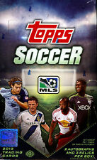2013 TOPPS MLS MAJOR LEAGUE SOCCER HOBBY BOX NEW FACTORY SEALED