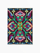 MIDEVIL TAPESTRY BEADED BANNER PATTERN