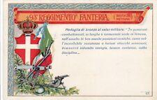 A660) WW1, ANCONA, 93 REGGIMENTO FANTERIA BRIGATA MESSINA. VIAGGIATA.