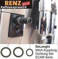 DeLonghi ECAM Kupplung Dichtung Set O-Ring zu Milchbehälter