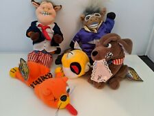 NEW MEANIES LOT OF 5  BEANBAG PLUSH ANIMALS