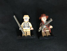 Lego Indiana Jones Figur und Soldat Soldier Minifigur Figures Minifigs