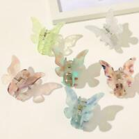 Women Girls Butterfly Hair Claws Crab Clips Barrettes Accessories Hairpin H1U3