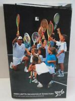 1999 USPTA MEMBERSHIP DIRECTORY of Men & Women Tennis Professionals Ppk BOOK