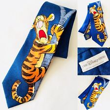"Rare Collector's Disney ""Tigger"" Official Merchandise 100% Pure Italian Silk Tie"
