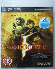 Resident Evil 5. Gold Edition. Ps3. Fisico.