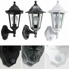 More details for traditional outdoor wall lantern minisun dusk - dawn sensor ip44 garden light