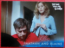 DAVID BOWIE - The Man Who Fell To Earth - Card #12 - Nathan and Elaine
