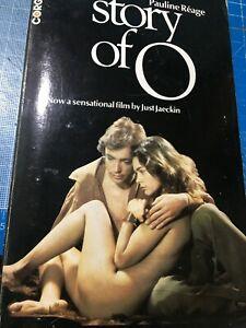 EROTICA BOOK THE STORY OF O, ADULT READING , SLEAZE BOOK VINTAGE CORGI
