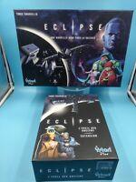 jeu de societe carte plateau eclipse VF TBE avec extension éveil des anciens