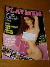 PLAYMEN 1989/8=TINI CANSINO=MARIANGELA D'ABBRACCIO=PETRA SCHARBACH=RIVISTA ISSUE