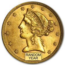 $5 Liberty Gold Half Eagle BU (Random Year) - SKU #166785