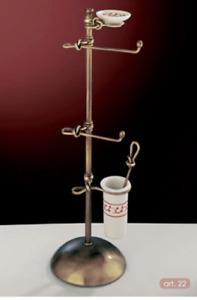 Floor Low Bathroom Accessories Brass Wc Bidet Combined Ceramics Made IN Italy