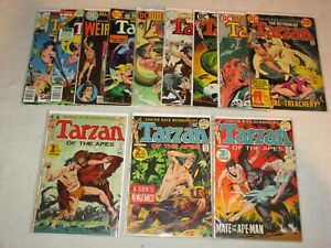 TARZAN 207 208 209 + MORE DC & TARZAN 1 MARVEL 1977 & WEIRD WORLDS 1
