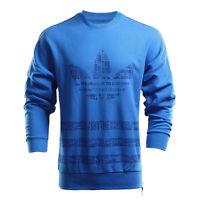 Adidas Originals AO0941 Men's Street Graphic Crew Sweatshirt Trefoil Clothing