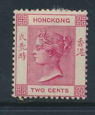 HONG KONG, 1882 2c carmine very fine mounted mint, cat £55
