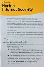 Norton Internet Security Small Business Pack- 5 Users Product Key Card Free Upg