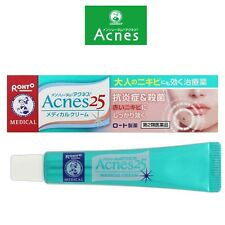 Acnes 25 Mentholatum☆ROHTO Japan-Acne care for Adult Medical Cream 16g ,JAIP