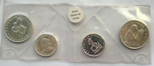 Haiti 1973 Woman Mint Set of 4 Silver Coins,Proof