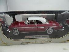 Chrysler imperial 1955 Rojo/blanco coche a escala 1 18 / Signature Models