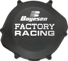 Factory Racing Clutch Cover Black Boyesen CC-01B For 87-99 Honda CR125R