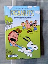 Peanuts Happiness Is A Warm Blanket Charlie Brown (2011, Hardcover, Signed)