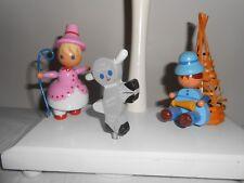 Vtg Irmi Nursery Lamp Wooden Little Bo Peep Little Boy Blue Night Light & Motion