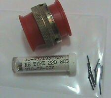 Bendix Connector Plug NLS6GT20-35SA 10-475437-35F 7910 E145186 NOS NASA Propulsi