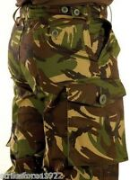 "NEW British Army Issue Woodland DPM Camouflage Combat Trousers  75/92/108 36"" w"