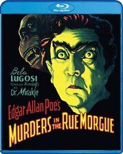 MURDERS IN THE RUE MORGUE New Sealed Blu-ray 1932 Bela Lugosi