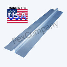 "(50) 4 ft Snap On Aluminum Heat Transfer Plates for 1/2"" PEX Omega"