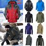 Mens Waterproof Tactical Outdoor Jacket Hiking Skiing Windbreaker Coat Outwear