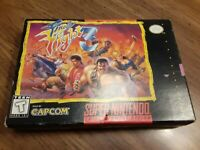 Final Fight 3 (SNES) Super Nintendo *Complete In Box* extremely rare