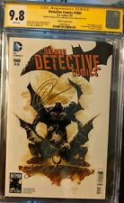 Detective Comics 1000 Capullo Var CGC 9.8 SS Signed 3X Capullo, King & Tomasi!