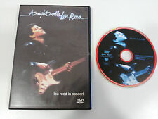 LOU REED IN CONCERT A NIGHT WITH LOU REED DVD PAL REGION 0 ALL REGIONS 60 MIN